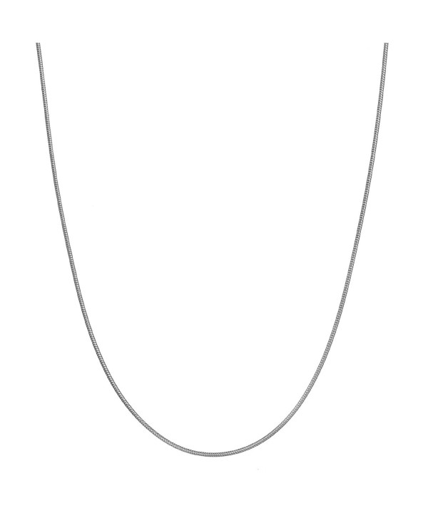 Sterling Silver Classic Italian Necklace