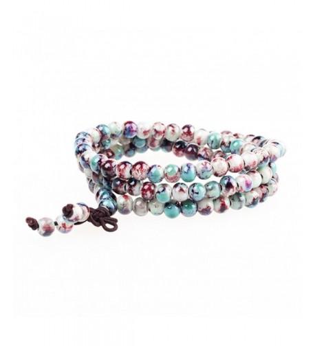 MUFY Jindezhen Discoloration Bracelets Religious