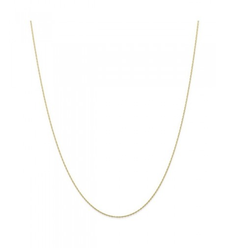 Yellow Carded Cable Necklace Chain