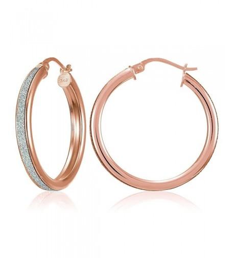 Flash Sterling Silver Glitter Earrings