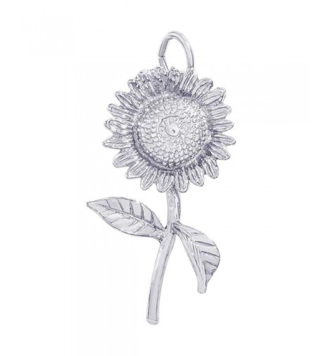 Rembrandt Charms Sunflower Sterling Silver