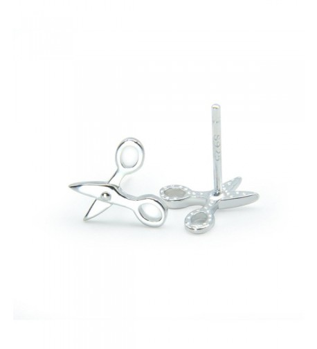 BC Sterling Scissors Special Earrings