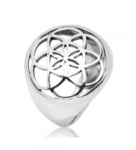 Sterling Silver Filigree Geometry Mandala