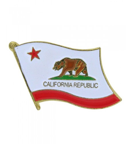 US Flag Store California Pin