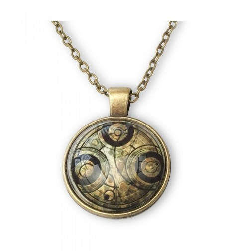 Doctor Timelord Cabochon Pendant Necklace