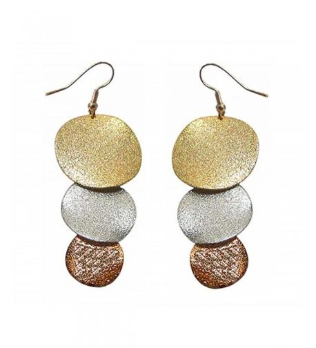 Dangle Earrings Pierced Bronze AC89700 2