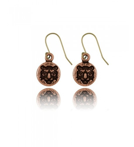 Nature Dangle Style Copper Earrings