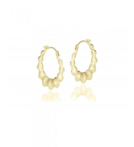 NYC Sterling Women Bamboo Earring