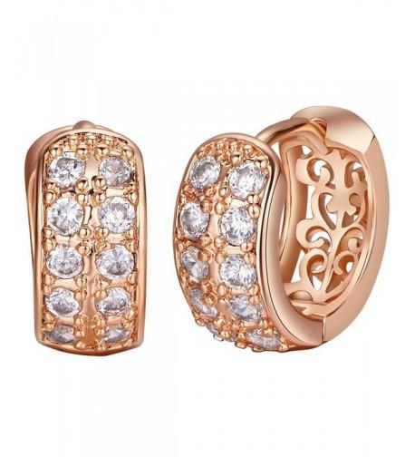 Shally Austrian Crystal Plated Earrings