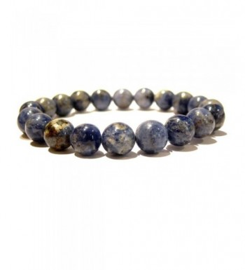 Sodalite Bracelet 05 Stretch 9 10mm