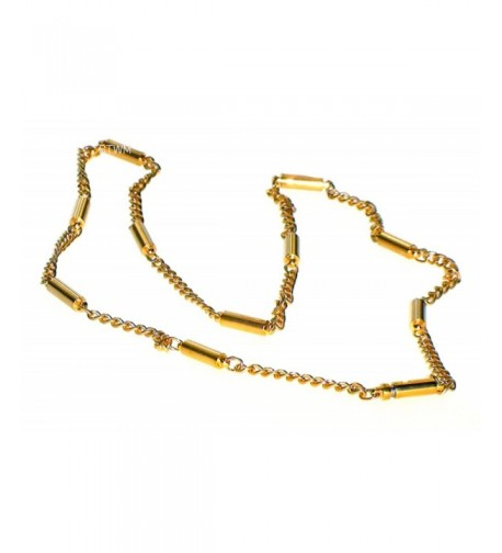 Goldtone Stainless Magnetic Therapy Necklace