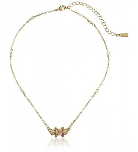 1928 Jewelry Essentials Gold Tone Simulated