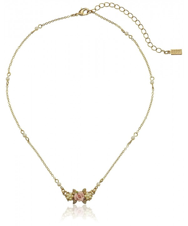 1928 Jewelry Essentials Gold Tone Simulated