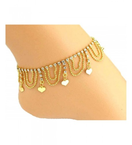 JY Jewelry Gold plated sequins Rhinestones