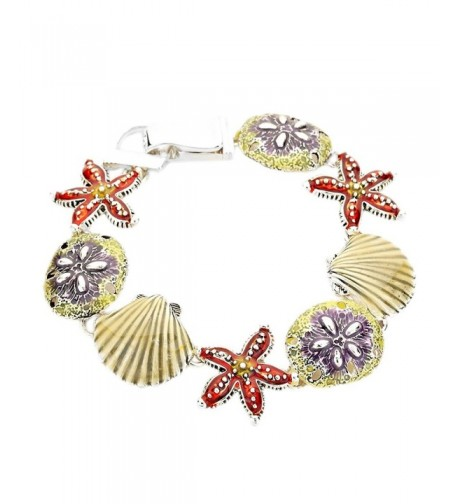 Rosemarie Collections Starfish Magnetic Bracelet