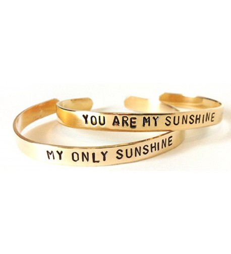 Mother Daughter Jewelry Bracelets Sunshine