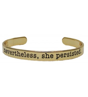 Bracelet Nevertheless Persisted Inspire Stackable
