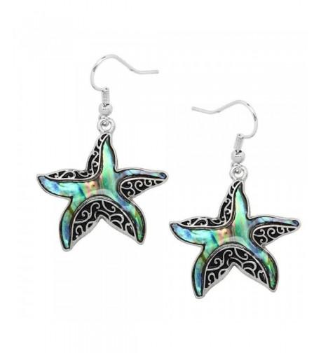 Liavys Starfish Fashionable Earrings Filigree