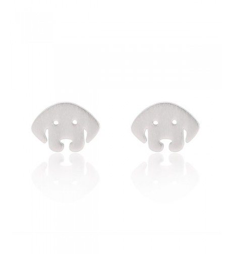 Sterling Silver Cut Out Finish Earrings