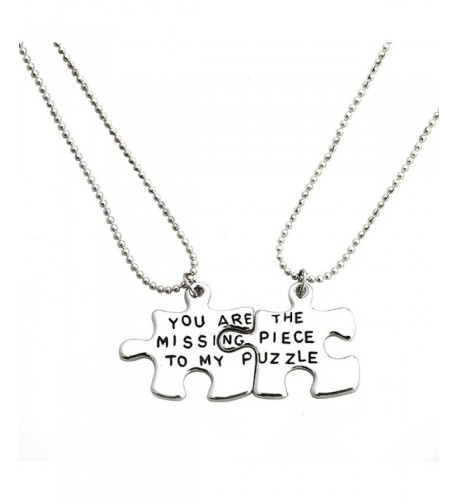 Meiligo Fashion Necklace Matching Engraved