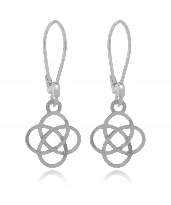 Sterling Silver Josephine Knot Earrings