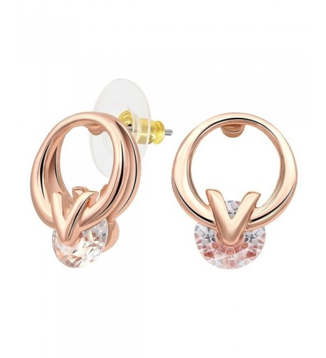 Kemstone Crystal Accented Character Earrings