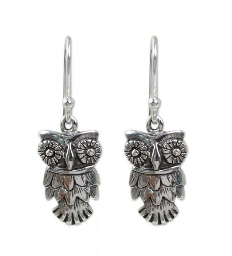 NOVICA Sterling Silver Animal Earrings