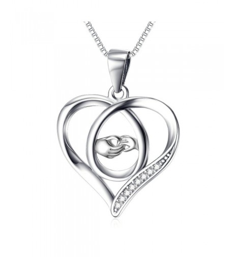Perfect Sterling Eternal Pendant Necklace