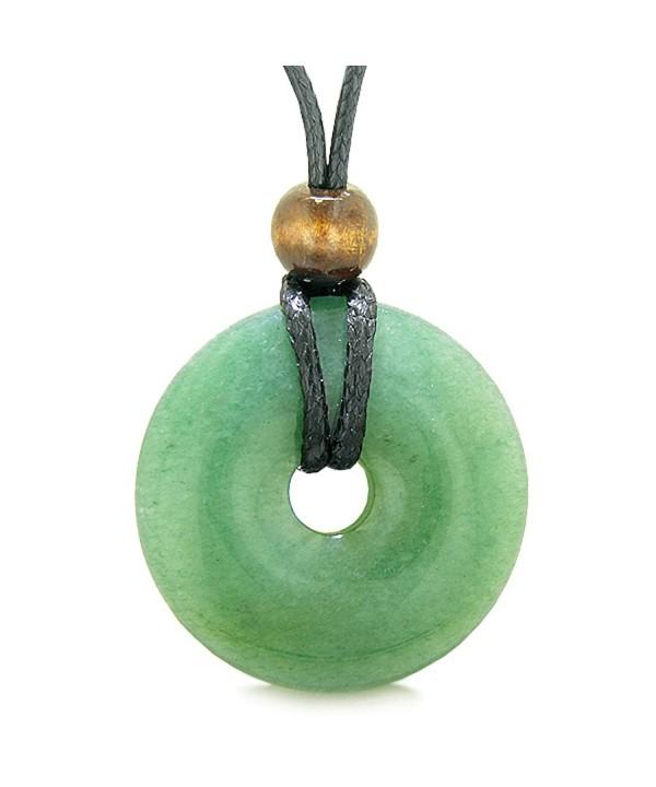 Amulet Shaped Positive Healing Necklace