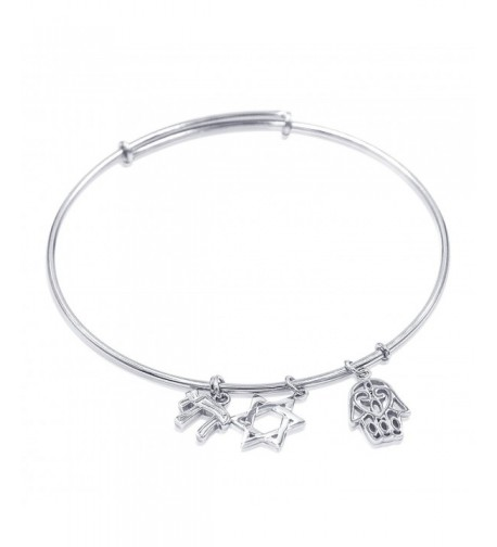 Sterling Silver Expandable Bracelet Charms