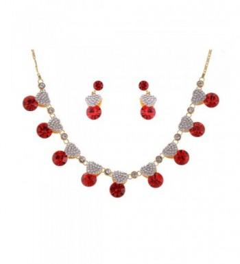 Alilang Valentine Swarovski Rhinestones Necklace