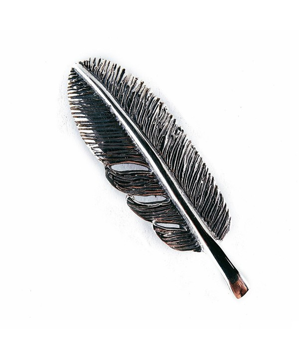 Silver Feather Necklace Handmade Balinese