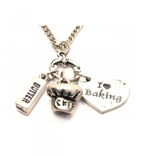 Baking Butter Charms Fashion Necklace