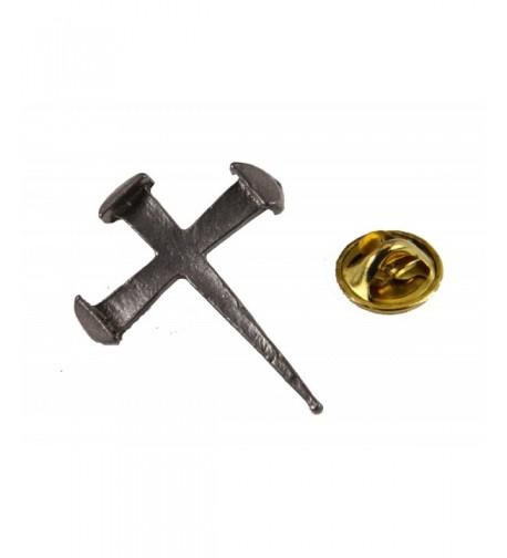 6030340 Rugged Cross Crucifix Brooch