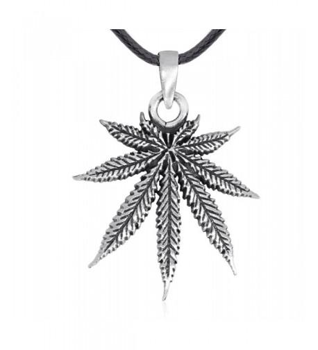 Dans Jewelers Classic Marijuana Necklace