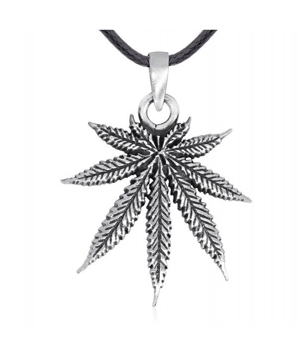 Dans Jewelers Classic Marijuana Necklace