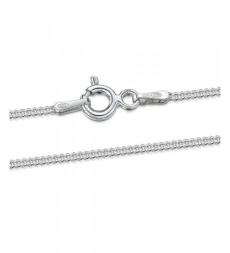 Amberta Sterling Silver Necklace Length