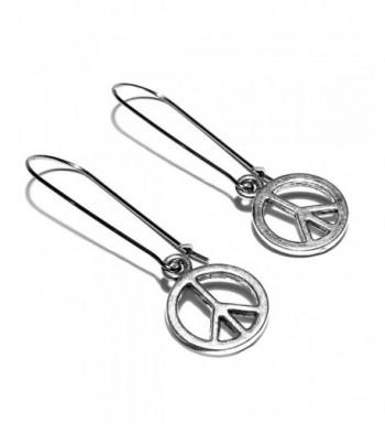 Sabai Silvertone Dangle Earrings Stainless