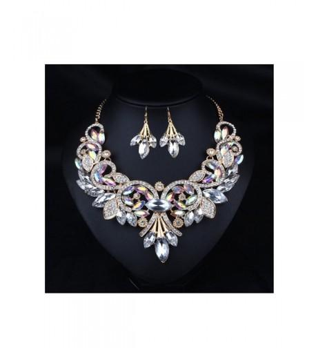 Hamer Statement Necklace Earrings Bohemian