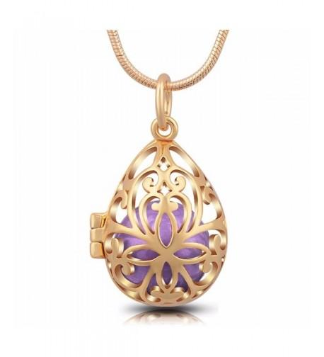 EUDORA Teardrop Harmony Necklace Pole chain