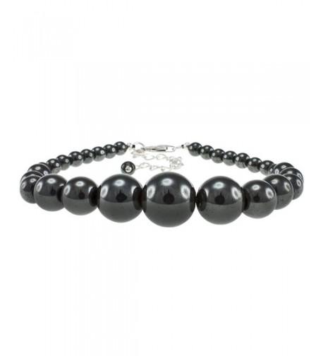 Pearlz Ocean Hematite Bracelet Sterling