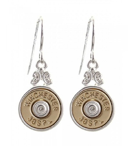 Bullet Winchester Special Western Earrings
