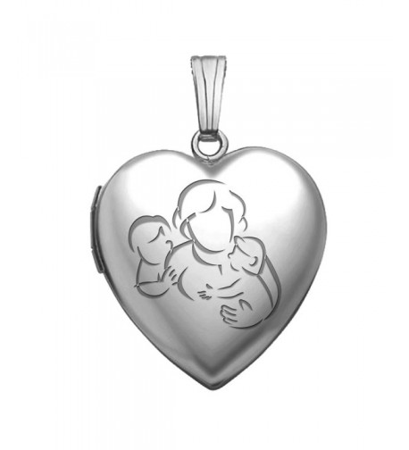 Sterling Silver Daughter Heart Locket