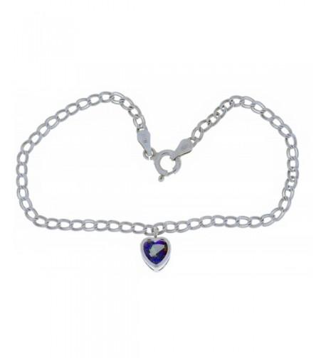 Natural Mystic Bracelet Sterling Rhodium