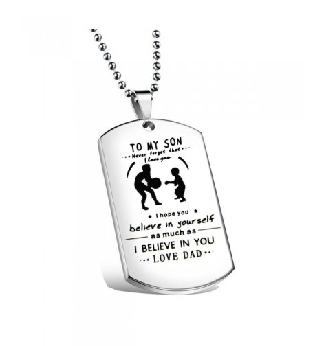 Ensianth Father Jewelry Forget Necklace