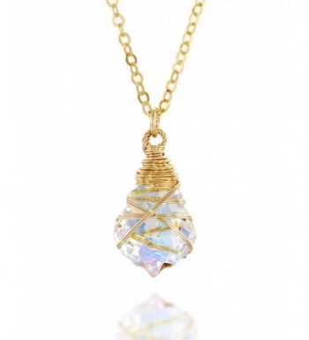 Wrapped Original Swarovski Necklace Extender