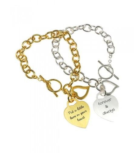 Personalized Bracelet Customized Engraved BBR457G3 2