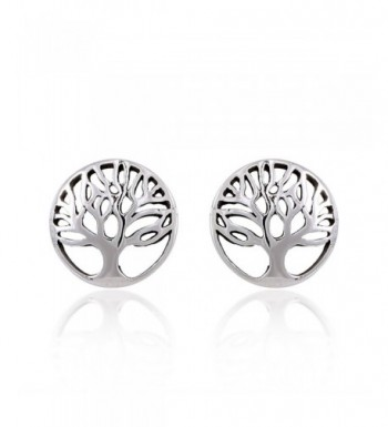 Sterling Silver Tree Life Earrings