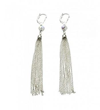 Sterling Crystal Earrings Swarovski Crystals