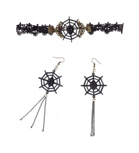 RareLove Vampire Necklace Earrings Halloween